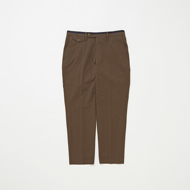 BADGE COTTON TROUSER