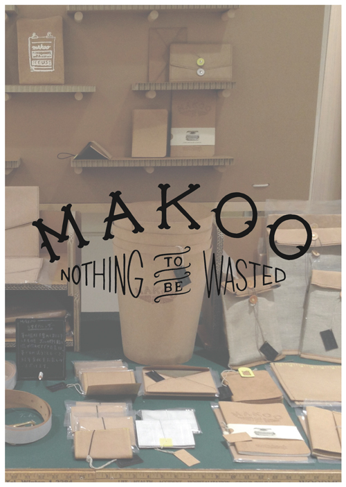 Makoo POP-UP SHOP @ WORK NOT WORK URBAN RESEARCH 静岡店