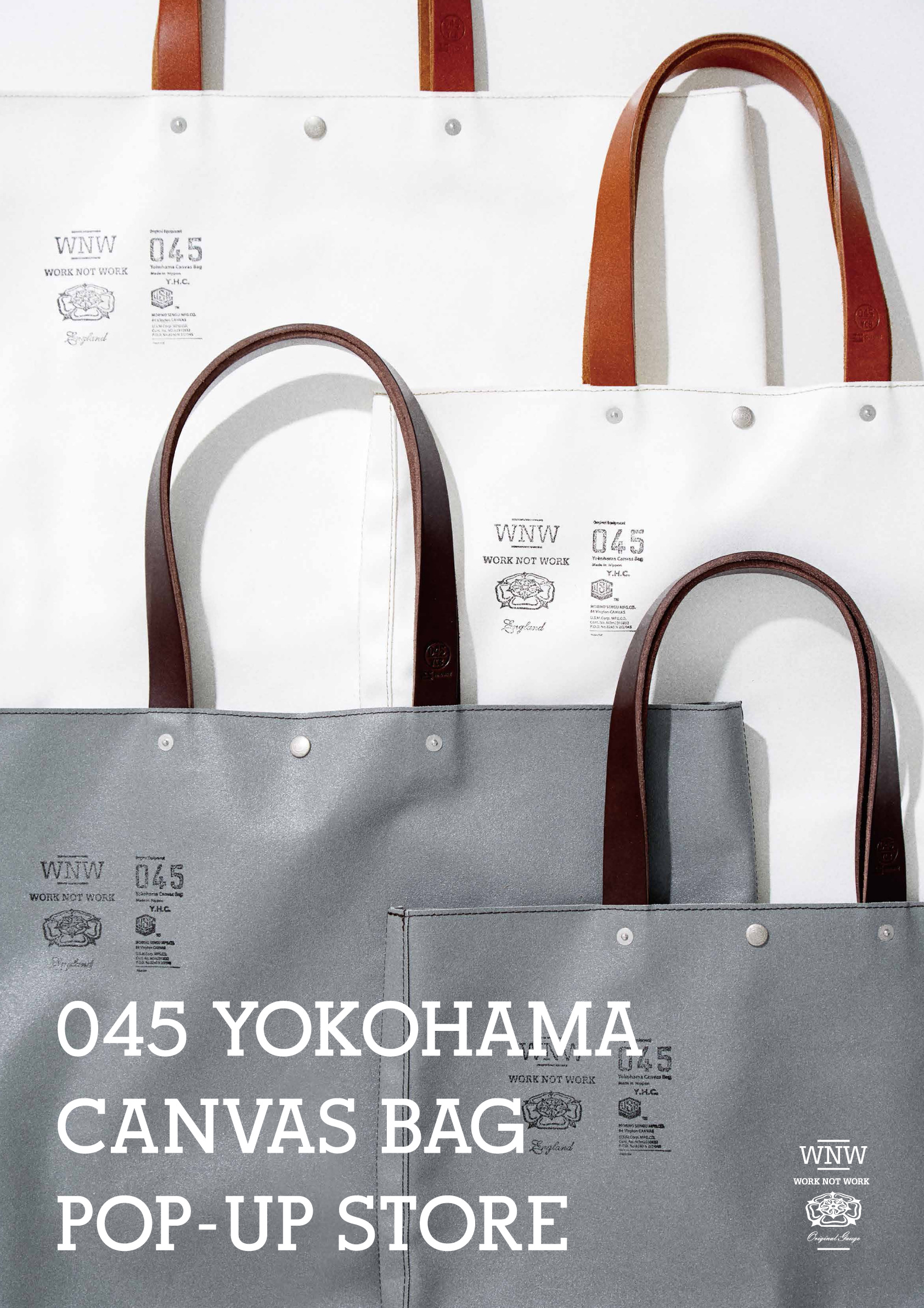 045 YOKOHAMA CANVAS BAG