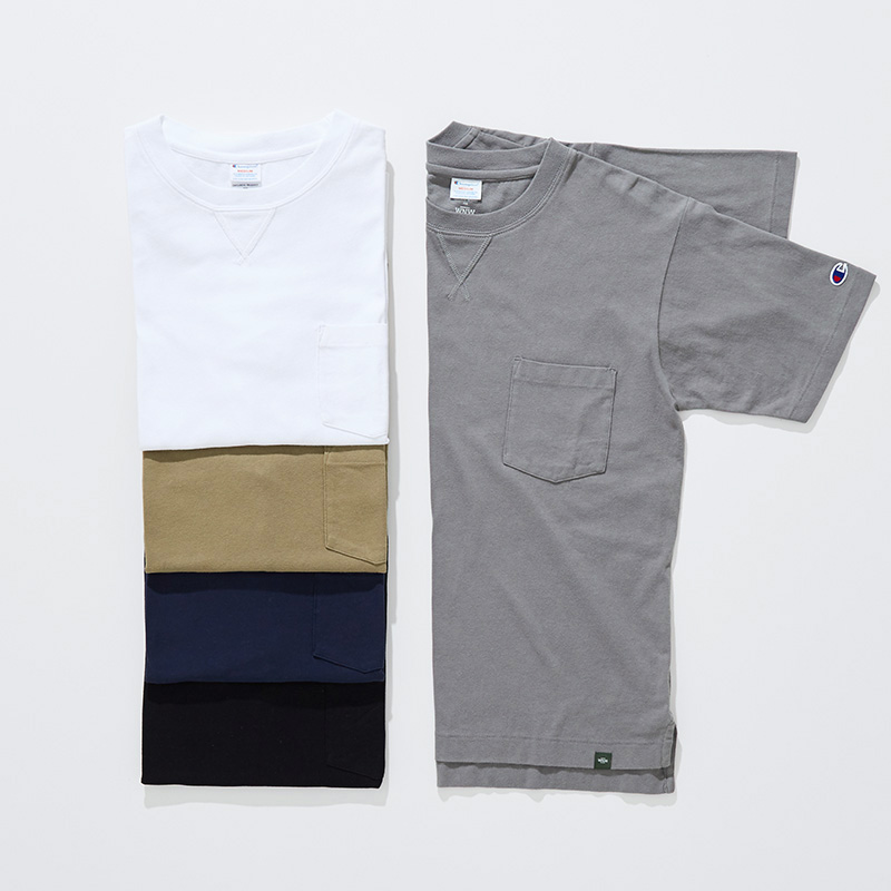 SOFT COTTON T-SHIRT with POCKET
